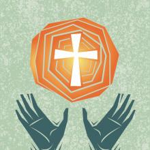 Worship illustration, orestpath / Shutterstock.com