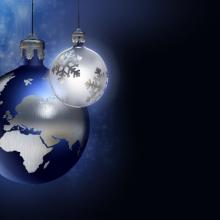 Photo: Christmas over all the Earth, © lithian / Shutterstock.com
