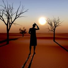 Climate change photo, Sangoiri / Shutterstock.com