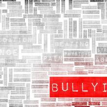 Bullying word cloud, kentoh/Shutterstock.com