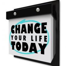 Self-help wall calendar,  iQoncept / Shutterstock.com