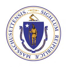 Massachusetts state seal.