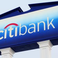 Photo: Citibank logo, Gerry Boughan / Shutterstock.com
