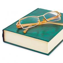 Eye glasses. Image courtesy Tatiana Popova/shutterstock.com