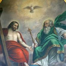 Holy Trinity painting, Zvonimir Atletic / Shutterstock.com