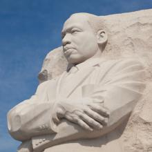 Martin Luther King, Jr. statue in Washington, D.C. Steve Heap/Shutterstock.com
