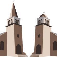 Two churches,  Silva Vikmane / Shutterstock.com