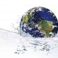 World on water, violetkaipa, Shutterstock.com