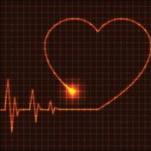 Abstract heart cardiogram, Petr Vaclavek / Shutterstock.com
