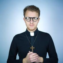 Portrait of a young pastor, Andrejs Zavadskis / Shutterstock.com