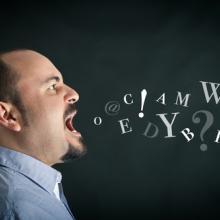 Man shouting, pio3 / Shutterstock.com