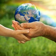 Caring for the Earth illustration, Sunny studio-Igor Yaruta / Shutterstock.com
