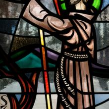 Stained glass St. Francis of Assisi, Nancy Bauer / Shutterstock.com