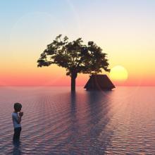 Climate change illustration, Sangoiri / Shutterstock.com