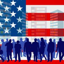 American Dream illustration, carlosgardel / Shutterstock.com