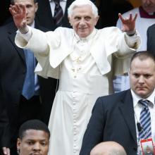 Pope Benedict XVI. RNS photo courtesy Gregory A. Shemitz.