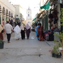 A street in Tripoli, the Libyan capital, before the war.​ Image courtesy Fredric