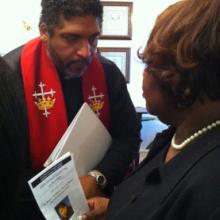 The Rev. William J. Barber II. Image courtesy Yonat Shimron/RNS