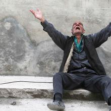Photo via REUTERS / Hosam Katan / RNS