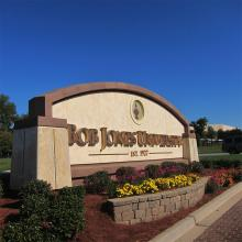 Bob Jones University in Greenville, S.C. Photo via David Gibson / RNS.