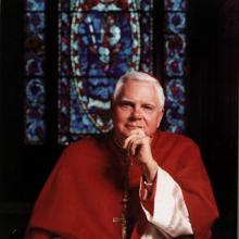 Disgraced former Boston Cardinal Bernard Law. RNS file photo.