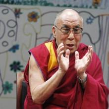 The Dalai Lama. Photo via Robert Sciarrino / The Star-Ledger / RNS.