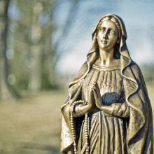 Virgin Mary. Image via Wylio http://bit.ly/srHSsb