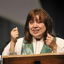Bishop Minerva Carcaño