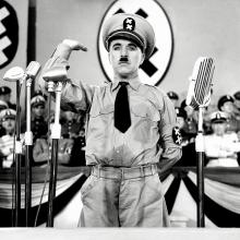 Charlie Chaplin asThe Great Dictator