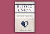 """The cover of """"Blessed Union"""" shows a heart scratched into a wooden table."""