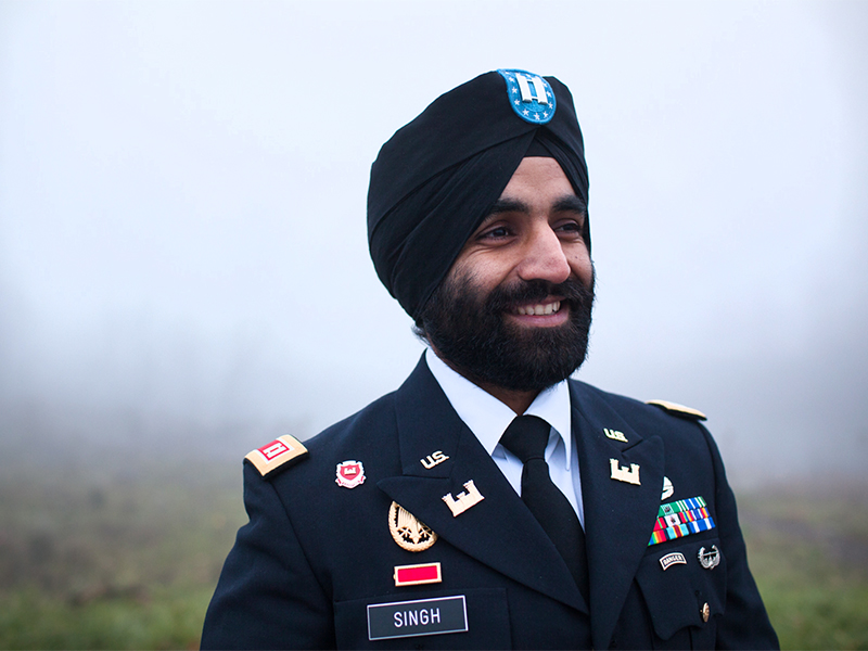 Army Soldiers Can Wear Turbans Beards Hijabs Sojourners